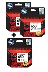 Komplet tinta HP nr.650 (2 x BK + C/M/Y), original