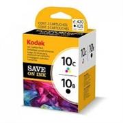 Komplet tinta Kodak 10 B + C (3949948) (crna + boja), original