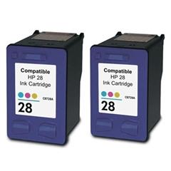 Komplet tinta za HP C8728AE nr.28 (boja), dvostruko pakiranje, zamjenski