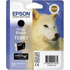 Tinta Epson T0961 (foto crna), original