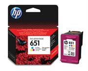 Tinta HP C2P11AE nr.651 (boja), original