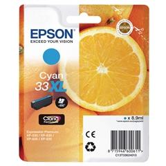 Tinta Epson 33 C XL (C13T33624010) (plava), original