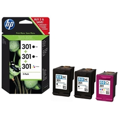 Komplet tinta HP E5Y87EE (2 x nr.301 BK + nr.301 CMY), original