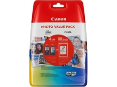 Komplet tinta Canon PG-540XL + CL-541XL, original + foto papir (5222B013AA)