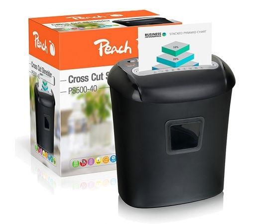 Uništavač dokumenata Peach PS500-40 (5 x 16 mm), P-4