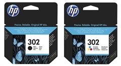 Komplet tinta HP nr.302 (BK + CMY), original