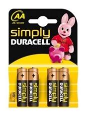 Baterija Duracell AA-LR6, 4 komada