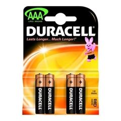 Baterija Duracell AAA-LR03, 4 komada