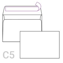 Kuverta C5, 162 x 229 mm, bijela, 250 komada