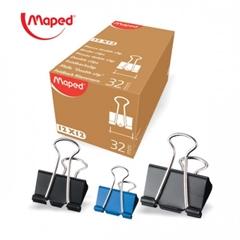 Hvataljke za papir binder Maped, 32 mm, 12 komada