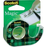 Ljepljiva traka Scotch Magic 19 mm x 7,5 m, na odvijaču
