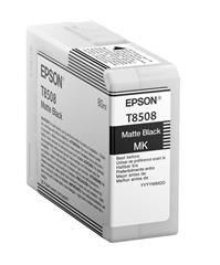 Tinta Epson T8508 (C13T850800) (matt crna), original