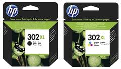 Komplet tinta HP nr.302XL (BK + CMY), original