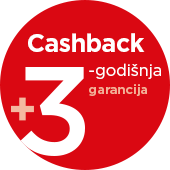Picture for category 3-godišnja Garancija i Cash Back