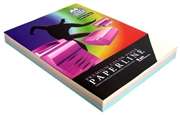 Fotokopirni papir u boji Paperline A4, pastelna duga, 250 listova
