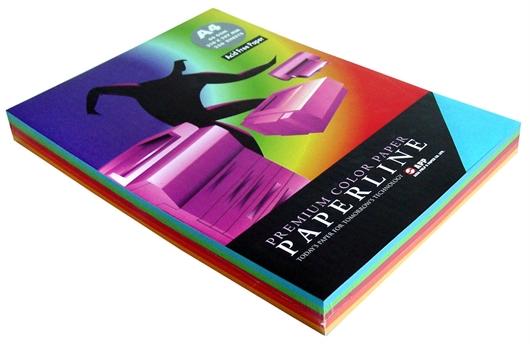 Fotokopirni papir u boji Paperline A4, intenzivna duga, 250 listova