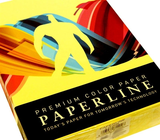 Fotokopirni papir u boji A4, zeleno-žuta (lemon), 500 listova