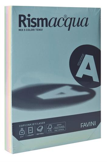 Fotokopirni papir u boji A4 mix, pastelna duga