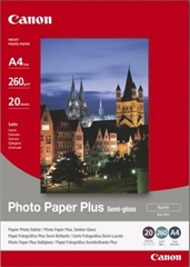 Foto papir Canon SG-201, A4, 20 listova, 260 grama