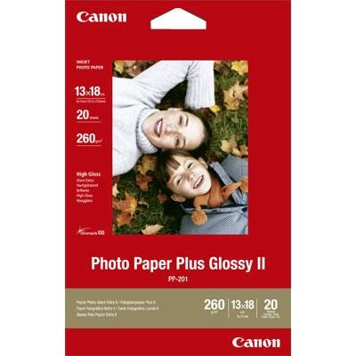 Foto papir Canon PP-201, 13 x 18 cm, 20 listova, 260 grama