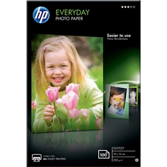 Foto papir HP CR757A, A6, 100 listova, 200 grama