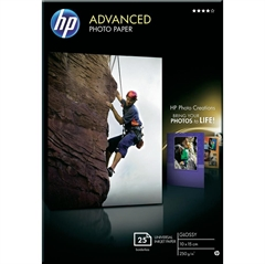 Foto papir HP Q8691A, A6, 25 listova, 250 grama