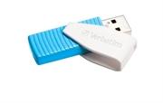 USB stick Verbatim SWIVEL, 8 GB, karipsko plava