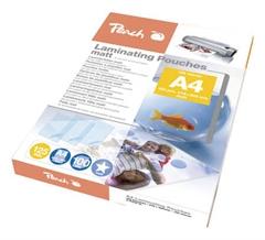 Žepki za plastificiranje (A4), matt, 125 mic, 100 kosov (S-PP525-22)