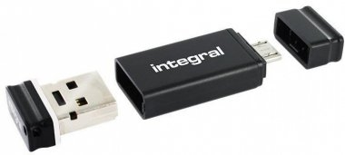 USB stick Integral Fusion, 32 GB OTG (On-The-Go) adapter