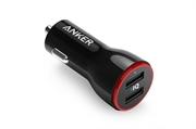 Auto punjač USB Anker PowerDrive, 2 ulaza, crna