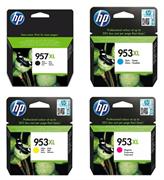 Komplet tinta HP nr.957XL + 953XL (C/M/Y), original