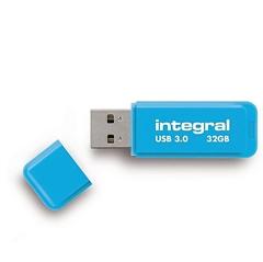 USB stick Integral Neon, plavi, 32 GB