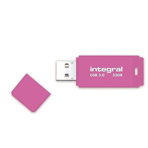 USB stick Integral Neon, ružičasti, 32 GB