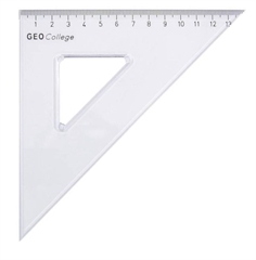 Trokut 45°, 14 cm