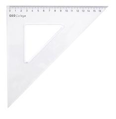 Trokut 45°, 18 cm