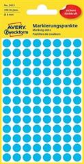Naljepnice (točke za označavanje) Zweckform 3011, promjer 8 mm, plave