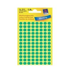 Naljepnice (točke za označavanje) Zweckform 3012, promjer 8 mm, zelene