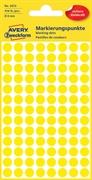 Naljepnice (točke za označavanje) Zweckform 3013, promjer 8 mm, žute