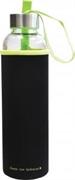 Bočica za vodu Wave, 600 ml, staklo, zelena