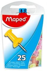 Čavlići Maped za pluto, 25 komada, u boji