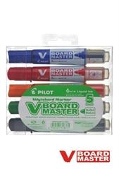 Flomaster Pilot V Board master, WBMA-VBM-M-SET, komplet 5