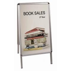 A-ploča Bi-Office, A1, 59,4 x 84,1 cm, bijela