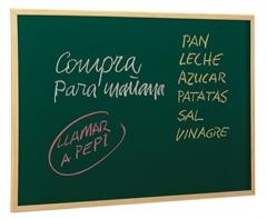 Ploča za kredu Faibo Economic, 60 x 90 cm, zelena