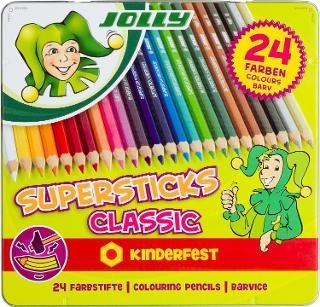 Bojice Jolly Kinderfest Classic, 24 kom.