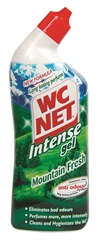 Sredstvo za čišćenje sanitarija WC Net intense gel, 750 ml
