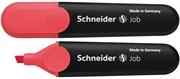 Marker Schneider Fluo Job, crvena