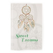 Blok bilježnica A5 Sweet dreams, 96 listova, bež