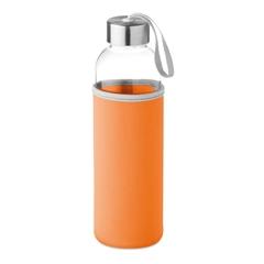 Staklena boca Glass za vodu, 500 ml, narančasta