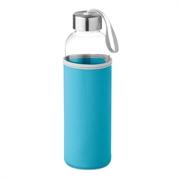 Staklena boca Glass za vodu, 500 ml, tirkizna
