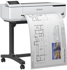 Pisač Epson SC-T3100, 24-in A1